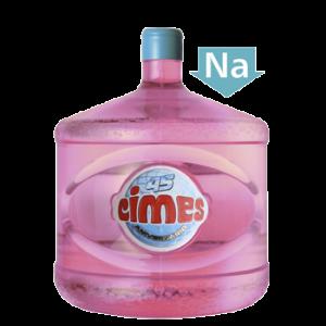 Agua en botellon cimes baja en sodio
