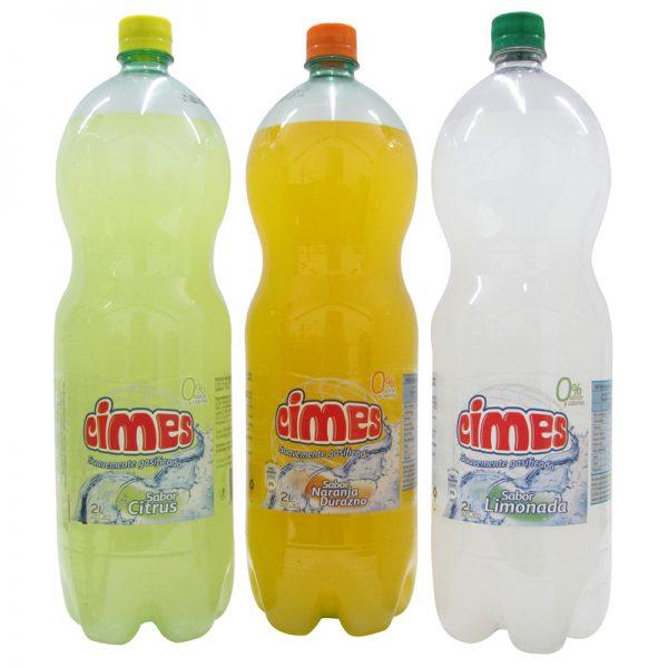 Agua saborizada fabrica cimes